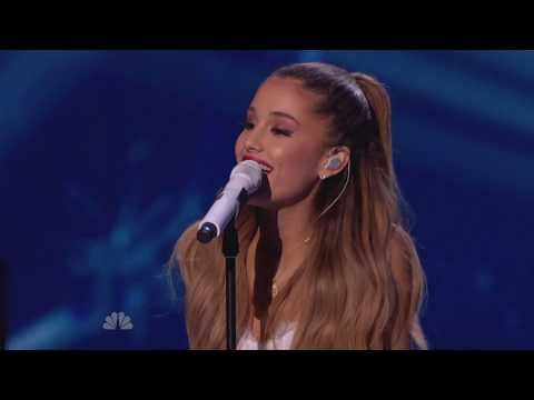 (New) [1080p] ariana grande - last christmas (live at michael bubles christmas special)