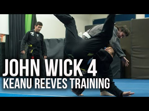 (New) John wick chapter 4 | behind the training of keanu reeves