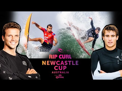 (Ver Filmes) Julian wilson vs. jack robinson a rivalry ignites! | rip curl newcastle cup heat replay