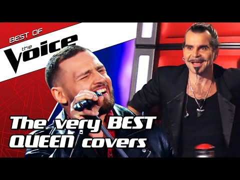 (New) Top 10 | amazing queen covers in the voice