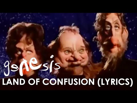 (New) Genesis - land of confusion (official lyrics video)