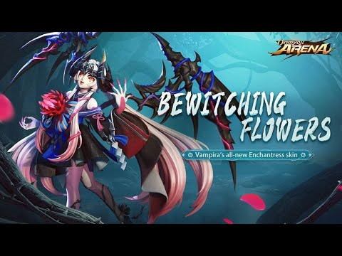 (New) New vampira bewitching flowers skin preview!