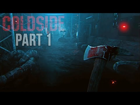 (New) Coldside - rainy night chapter gameplay part 1 (psychological horror game)