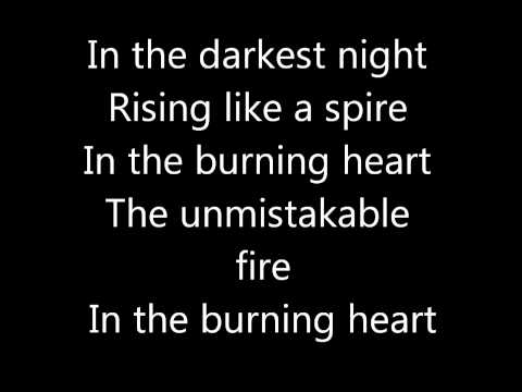 (New) Burning heart survivor lyrics