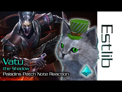 (New) Paladins - vatu the shadow patch reaction