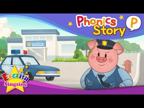 (VFHD Online) Phonics story p - english story - educational video for kids