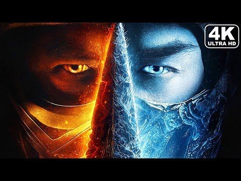 (New) Mortal kombat scorpion vs sub zero fight scene full battle 4k ultra hd
