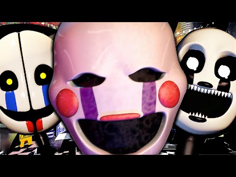 (New) Desafio da puppet * ultra custom night *