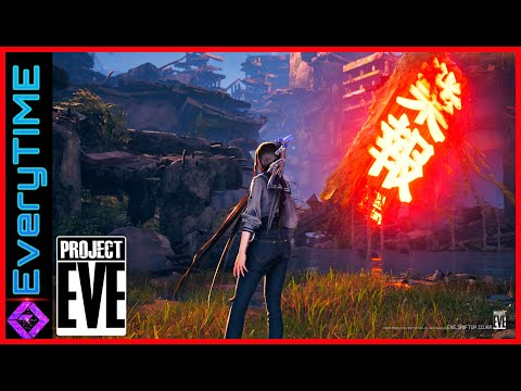 (New) Project eve | new anime gameplay revealed | 4k 60fps