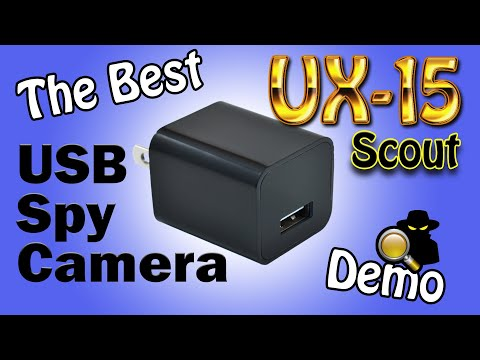(HD) The best motion detect usb spy camera in the world: 2020 ux-15 scout