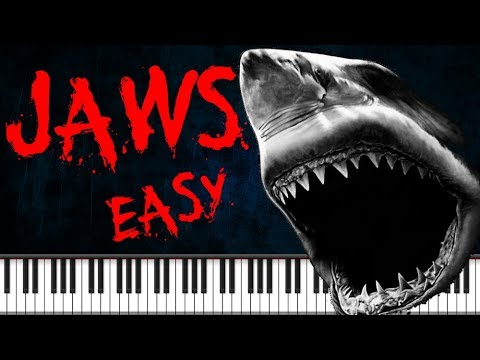 (Ver Filmes) Synthesia [piano tutorial] jaws theme - easy version