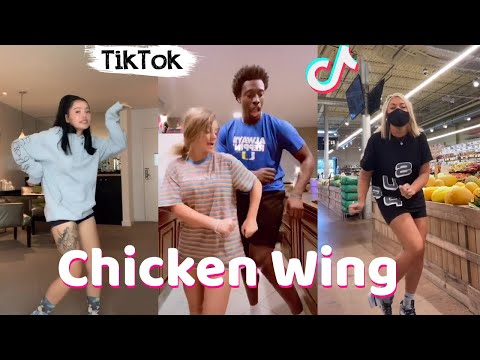 (New) Chicken wing chicken wing tiktok dance compilation