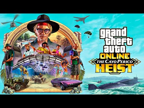 (New) New cayo perico heist update, part 1!! (gta 5 online)
