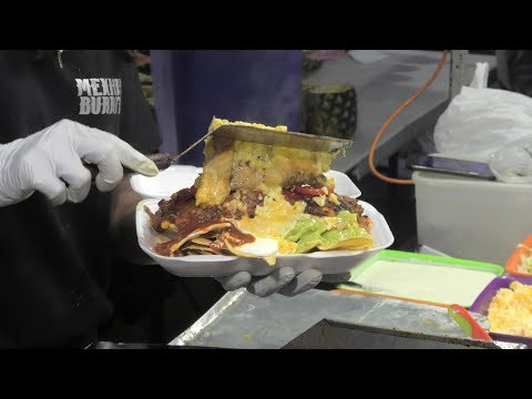(New) Tex-mex burritos and tacos, super loaded. london street food