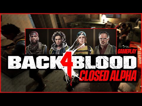 (New) Back 4 blood gameplay - full evansburgh campaign - left 4 dead is back! (closed alpha)