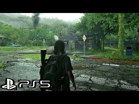 (New) The last of us 2 ps5 gameplay 4k hdr ultra hd