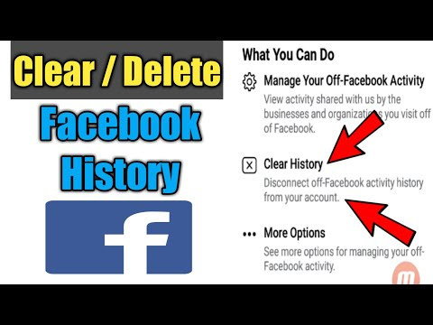(New) How to clear facebook activity history | facebook history delete