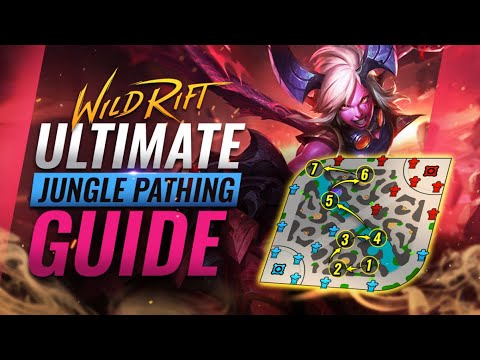 (VFHD Online) The ultimate jungle pathing guide for wild rift (lol mobile)