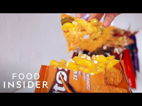 (New) Tacos in doritos bag: the ultimate junk food