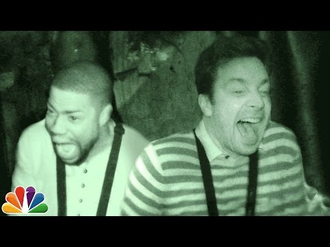 (New) Jimmy and kevin hart visit a haunted house