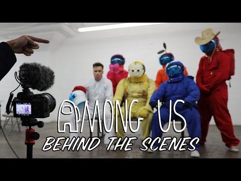 (New) Among us but its a reality show 3 - behind the scenes