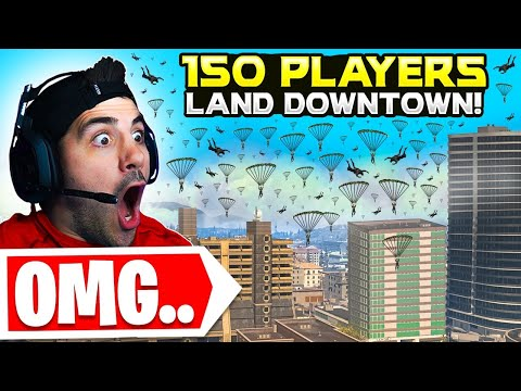 (New) We told 150 stream snipers to land downtown.. 😯 (modern warfare warzone)