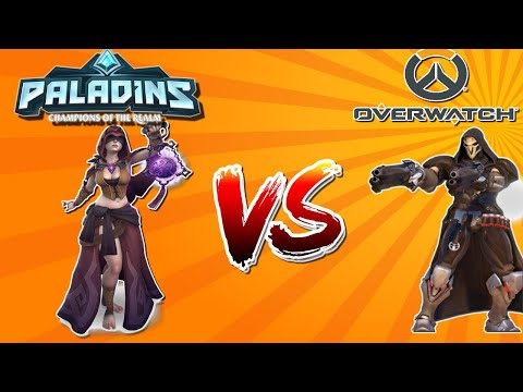 (New) Whos better in 2020? paladins or overwatch(game review)