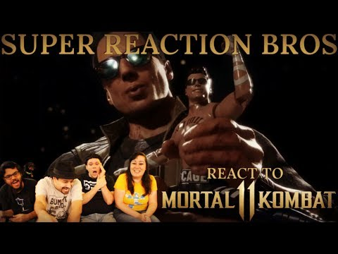 (New) Srb reacts to mortal kombat 11 - johnny cage reveal trailer