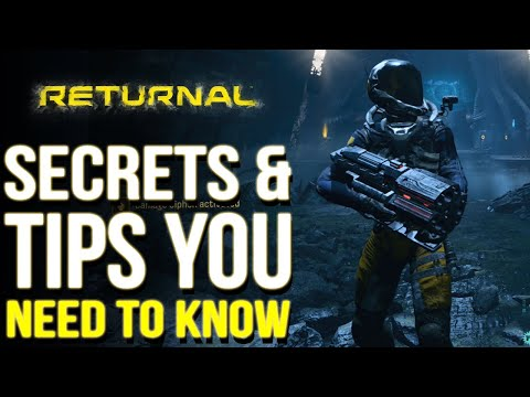 (New) Returnal | secrets e important tips you need to know (returnal tips and tricks)