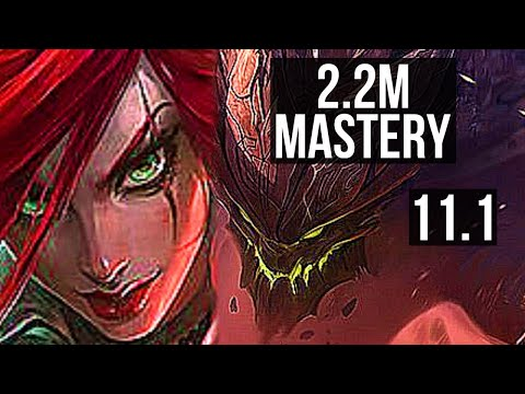(New) Katarina vs malphite (mid) | quadra, 2.2m mastery, 700+ games | br diamond | v11.1