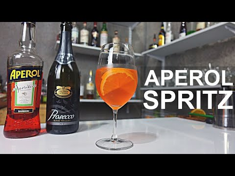 (New) How to make an aperol spritz - 2 ways....