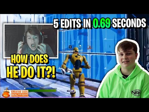 (Ver Filmes) Benjyfishy does 5 edits in 0.69 seconds to destroy everyone..