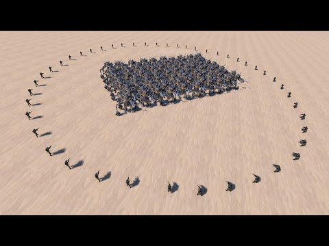 (New) 50 modern soldiers vs 100x every unit - ultimate epic battle simulator