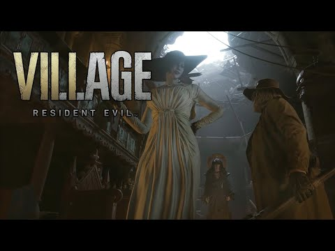 (New) Resident evil village - meeting dimitrescu family e escaping (re8)