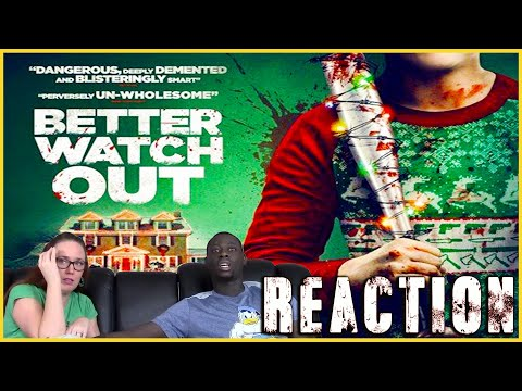 (HD) Better watch out movie reaction (full reaction on patreon)