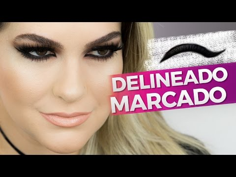 (New) Delineado marcado: a make mais pedida por alice salazar