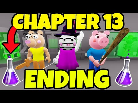 (New) Chapter 13 ending cutscene!! (piggy) | new update (roblox piggy story #2)