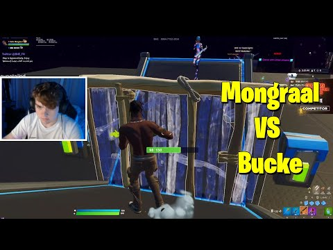 (VFHD Online) Mongraal vs bucke 1v1 buildfights (na)