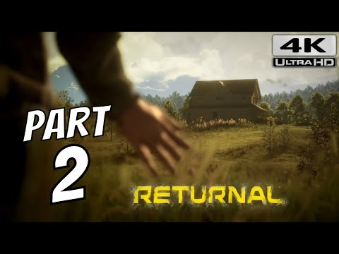 (New) Returnal ps5 walkthrough gameplay part 2 - the house (playstation 5) 4k 60fps