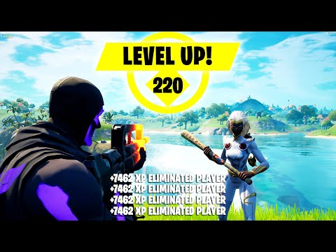 (HD) *solo xp glitch* how to get unlimited xp (level up fast) right now fortnite xp glitch