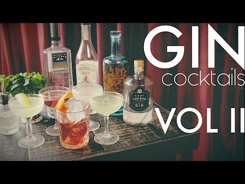 (New) Gin cocktails vol ii