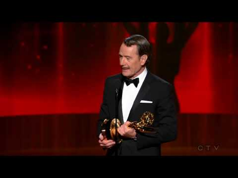 (New) Bryan cranston wins an emmy for breaking bad 2014