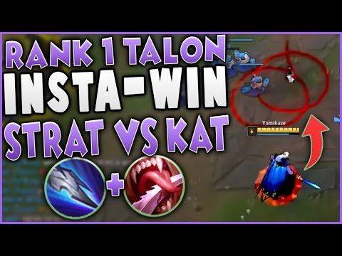 (New) This talon strat insta-wins the kat matchup | challenger talon mid gameplay