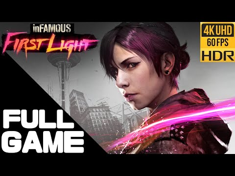 (New) Infamous first light full walkthrough gameplay – ps5 4k 60fps hdr no commentary gameplay