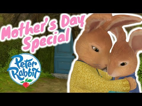 (New) Peter rabbit - mothers day special | cartoons for kids