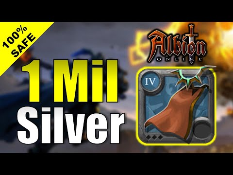 (HD) 1 million silver profit in 5 minutes | money making method albion online 2020