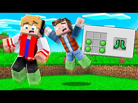 (New) Como usar as novas botas de slime adicionadas no minecraft !