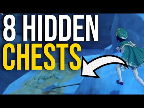 (New) 8 hidden chests you need to find in genshin impact