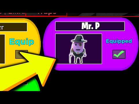 (HD) I unlocked the new mr. p skin in piggy 2 early.. (roblox)