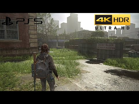 (New) The last of us part 2 (ps5) 4k hdr gameplay